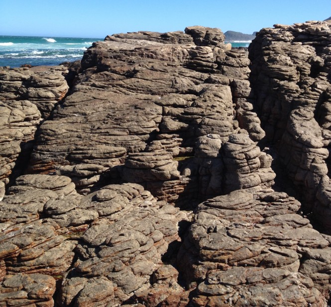 Flowing Rock, Scarborough Beach, South Africa copyright Silverleaf 2014