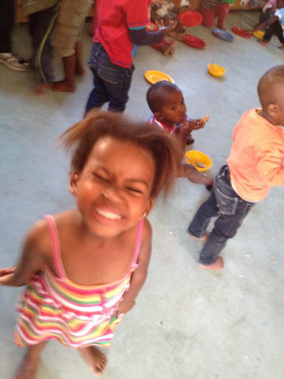 Camera-perfect Grin, Masiphumelele Creche, South Africa, Copyright Silverleaf 2014