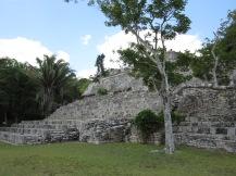 Kohunlich ruins, Quintana Roo, Mexico, Copyright Silverleaf 2014