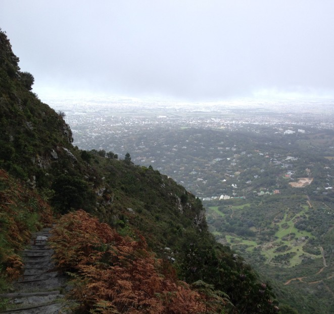 View from Table Mountain, South Africa, Copyright Silverleaf 2014