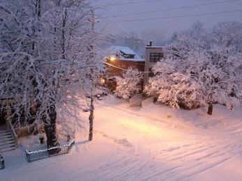 Winter Street by Light, Copyright Silverleaf 2014
