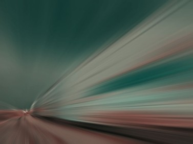 Speeding Train by John Hampsey Pettigrew